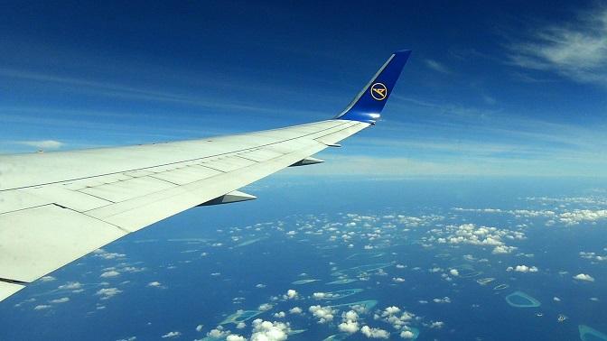 Malediven-Flugzeug-Condor