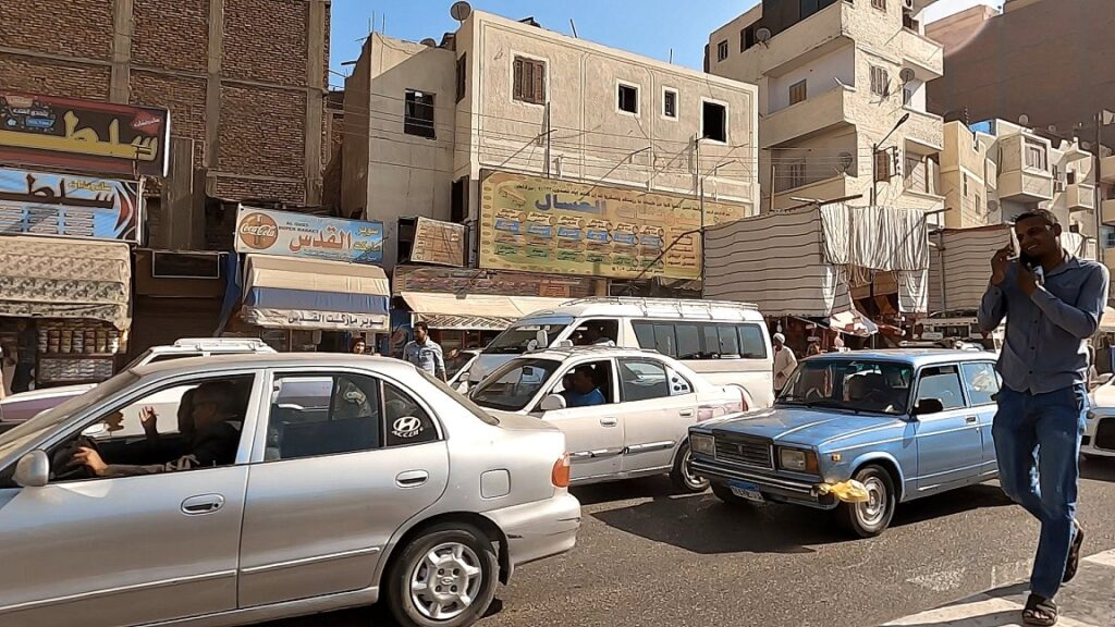 ägypten-luxor-stadt