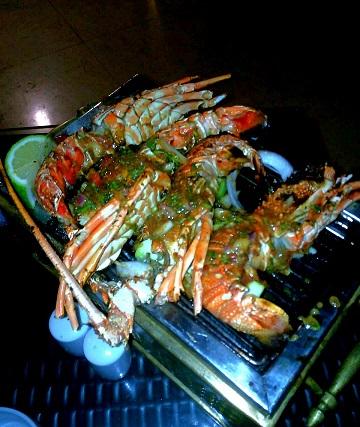 Hilton-Resort-Abu-Dabbab-lobster