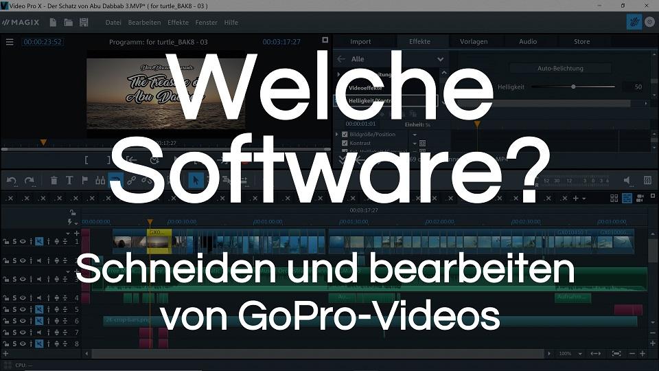 You are currently viewing Software für Videobearbeitung | Übersicht für Einsteiger