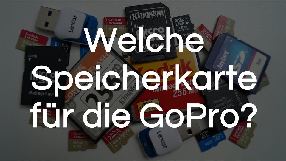 You are currently viewing Welche Speicherkarte für die GoPro?   DIESE brauchst du!